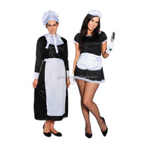 party sexy maid costume lingerie pattern latex french maid costumes for japan girls