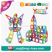 JM022429 yirun diy toys magnetic balls and sticks toys play and learn blocks