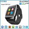 Famous 1.55inch Android GSM Image Viewer mobile phone watch 4g