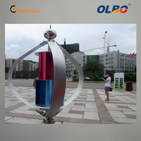 3KW Rooftop Vertical Axis Maglev Wind Turbine with Aluminum Alloy Blade