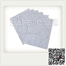 oil sorbent mat chemical absorbent emergency spill kits