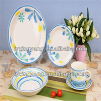 wholesale Fine 30pcs second hand made Ceramic Tableware Dinner Set
