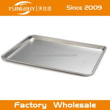 Cake baking tray/aluminum sheet pan/microwave aluminum tray for small cookie