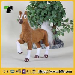 low price custom stuffed plush horse plush walking horse