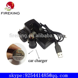 hot sale li-ion car battery charge 5 pin charge for led torch