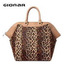 Custom print bag women leopard print custom bag