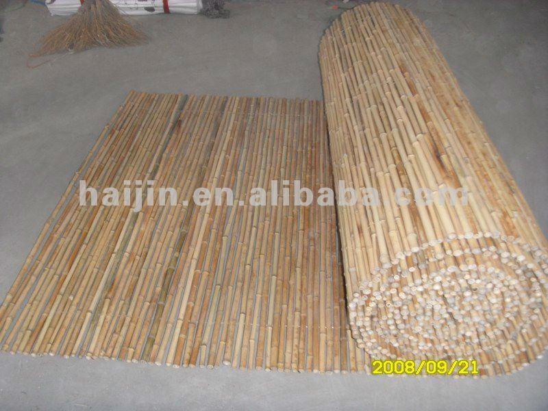 Natuurlijke bamboe hek andere tuinartikelen product id 514342302 - Bamboe hek ...