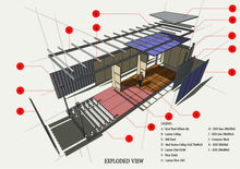 Transportable Mine Site House Accommodation