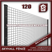 Euro Fence,Pvc Coated,2.2mm Wire Diameter,100x75mm Hole Size
