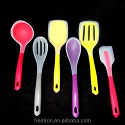 FDA grade heat resistant Nylon/silicone Tools set, silicone spatula