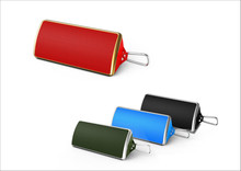 2x3W stereo Bluetooth speaker with dynamic and rich sound with LED light