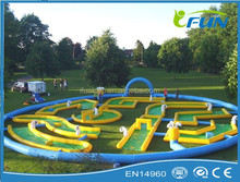 inflatable golf game for kids / inflatable water golf park / inflatable mini golf