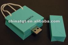 fashion tiffany bag usb flash memory for promo flash drive with best price