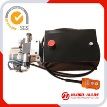 24VDC motor,0.8KW motor power,3500RPM rate speed power pack,the hydraulic power unit used in pallet truck