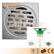 ABS plastic core floor drain chrome plated stainless steel Floor Drain/drainage bathroom/kitchen draining fittings/accessary