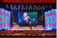 indoor rental led screen stage use outdoor led soft board P8 led strip led screen