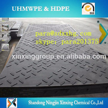 waterproof plastic Anti static UHMWPE/HDPE ground protection mat