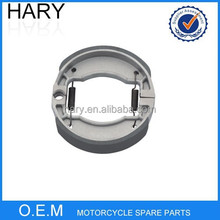 High quality 110*25 motorcycle brake shoe for CRYPTON