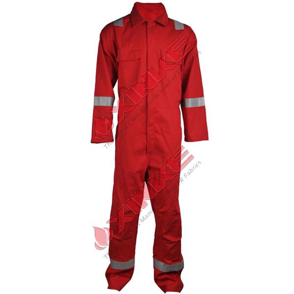 100% coton résistant à la flamme vêtement réfléchissant de sécurité