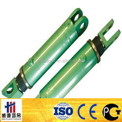 Four Stages Dump Truck Telescopic Hydraulic Cylinder OEM