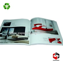 custom printed luxury home furniture catalogue