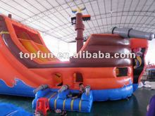2012 latest design inflatable pirate ship