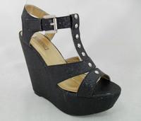 2014 Wholesale Women Latest Summer Lady Wedge Heels Sandals 2014