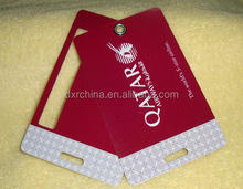 Branded newly design hole punched blank card