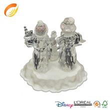Wholesale Acrylic Catholic Religious Statue RGB LED Holy Family/Holy Family Statue For Christmas Decoration