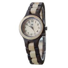 2015 Women's Watch Wood Wrist Watch for Girl Natural Material Quartz Watch