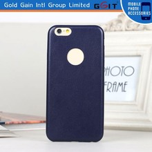 Imitated Microfiber PU+PC Slim Case for iPhone 6, Ultral Thin PC Case for iPhone 6