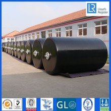 D1.3m x L2m Cylindrical type Protection equipment dock EVA foam filled fenders marine mooring buoys