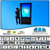 2015 Most Popular ! Shopping mall advertising kiosk / Digital Signage Kiosk /outdoor digital signage price