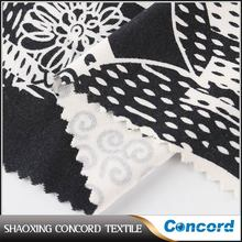 Shaoxing textile manufacturer Latest Style Knit silk rayon mixed fabric