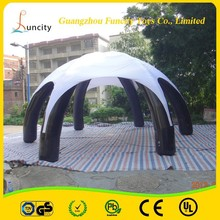 high quality inflatable air tent/inflatable air dome/advertising air dome tent for sale