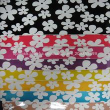 nuevo diseño impreso de cuero de la pu bolsos de mano material de la pu billetera de cuero material de cuero de la pu