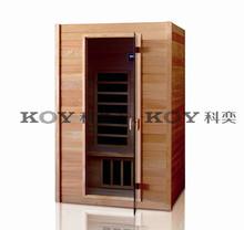 2015 New design carbon fiber infrared sauna cabin Mini sauna room H02-B5