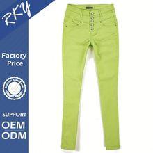 Beautiful OEM Design Color Fade Proof Ladies Casual Pant Sets