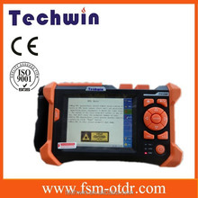 Touch Screen,5.7 inch LCD display TDR / OTDR,fiber optic test equipment