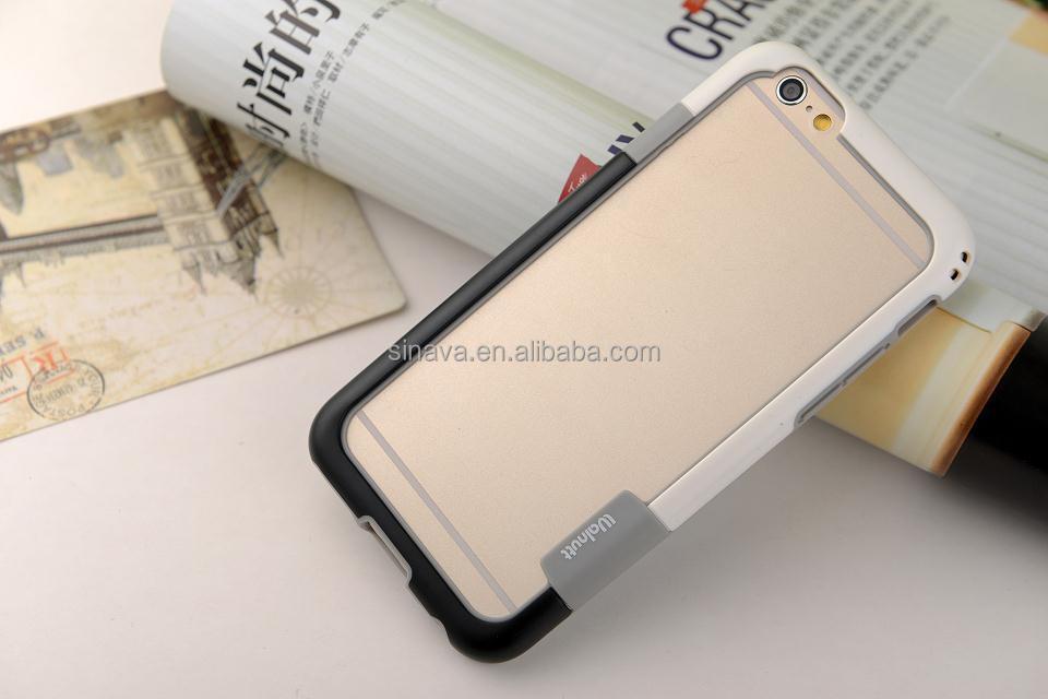 Fashion Korea Design Mobile Phone Soft Silicon Bumper Case For iPhone 6