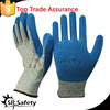SRSAFETY 13g latex coated hand protective gloves anti cut gloves cutting gloves