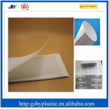 2015 new pet 0.4mm plastic sheet and opaque plastic sheet and plastic wrap film for packaging and printing