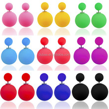 Creative Double Sided Earrings for Ladies New Design Fashion Stud Earrings