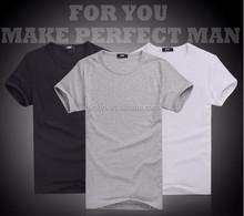 60% Cotton 40% Polyester 180 gram O-Neck Short Sleeve Custom Printed T-shirt