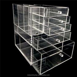 Acrylic makeup cosmetics storage case, beauty organizer, display case