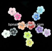 3d flower nail art, 3d soft flower, 3d plastic flower