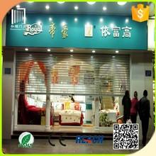 safety door design transparent rolling shutter door fuyang