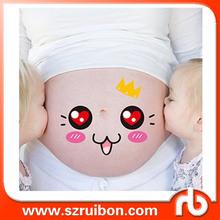 Creative Pregnancy Baby Bump Belly Stickers Maternity Week Sticker Beautiful Memories