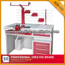 2012 hot selling high quality AX-JT3 single person steel dental lab workstation product supplies in china