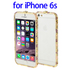Factory directly Encrusted Diamond Metal bumper case for iPhone 6s